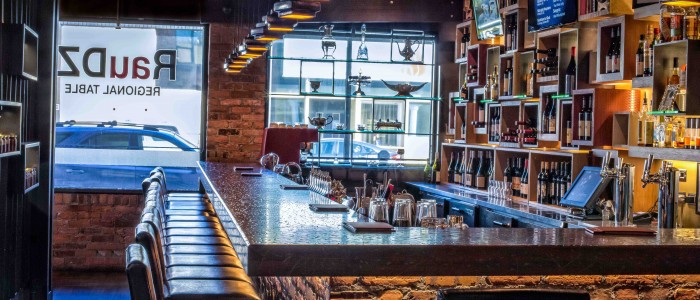 RauDZ Regional Table new front bar