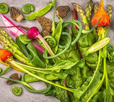 Fresh Veggies From The Market