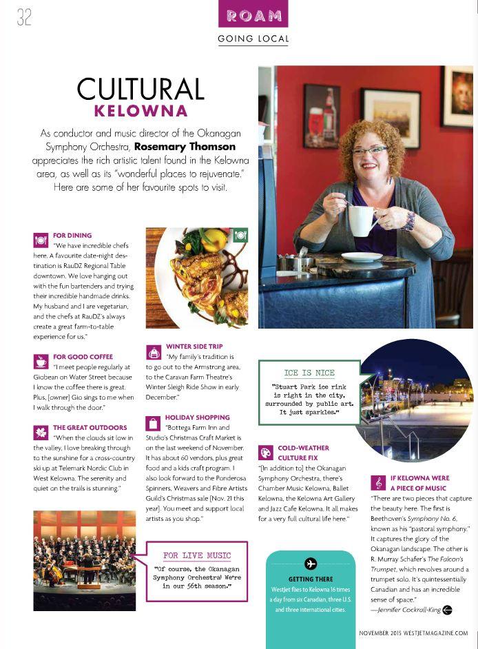 Cultural-Kelowna-in-WestJet-Magazine